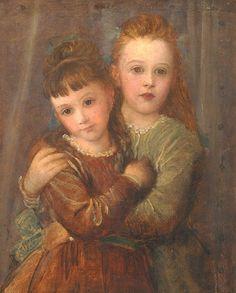 Rachel and Laura Gurney, 1875  George Frederick Watts