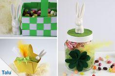 Sie suchen noch nach einem süßen Osternest zum Verschenken? In dieser kinderleichten Anleitung zeigen wir Ihnen, wie Sie ein Osterkörbchen basteln.