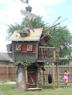 Tree house:)