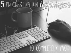Have you ever sat down and thought about what procrastination techniques you regularly fall back on? Doing so can totally help your productivity.