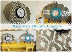 How to make a Bracket Board Clock - Craft