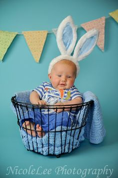 Beautiful fun Easter Photo... So doing this