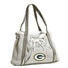NFL Hoodie Purse    saw a lady with one of these at work.. thought it'd be super cute to make with a Whitewater sweatshirt.. the pic doesnt do it justice!