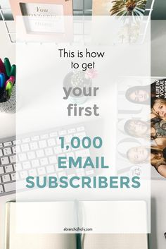 I didn't start growing my email list seriously until I knew I wanted to take my business full-time. Email Marketing Strategy, Online Marketing, Digital Marketing, Media Marketing, Social Media Packages, Email Providers, Online Business, Business Help, Business Advice