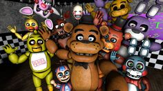 Five Nights at Freddy's (FNAF): 'Group Photo Time!'