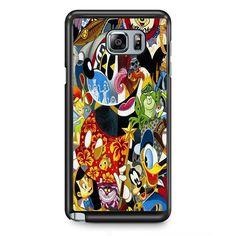 Disney Character Famous TATUM-3316 Samsung Phonecase Cover Samsung Galaxy Note 2 Note 3 Note 4 Note 5 Note Edge