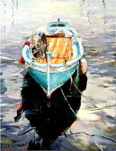 """Gleb Goloubetski """"Solitude""""; painting, oil - Centaur Art Galleries"""