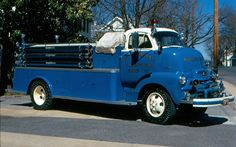 F.L. Anderson, Baltimore, MD  1954 Chevy cab-over 500/1000 for Walkersville VFD,Frederick Co.,MD.