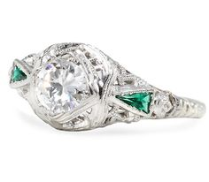 Maybe one day I'll get something like this- Striking Vintage Diamond