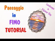 TUTORIAL: Dipingere col fimo - Paint with polymer clay | Sissy's Creations - YouTube