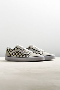 Vans Old Skool Checkerboard Sneaker | Urban Outfitters