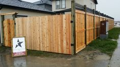 Fence designs on pinterest dog runs cedar fence and fence for Fortress fence design