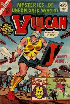 A MIGHTY CHAMPION IS BORN! SON OF VULCAN !!! http://beachbumcomics.blogspot.com/