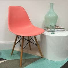 Coral Eames Style Dining Chair from Danetti.