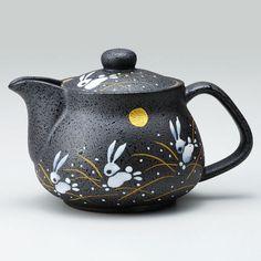 Details about Made in Japan Kutani Yaki Porcelain Jump Rabbit Teapot