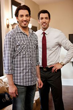 HGTV hosts Jonathan and Drew Scott  share some easy decorating tips that can really transform everyday objects into works of art. #propertybrothers #decor