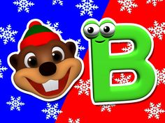Children Learn the Alphabet with this Fun & Colorful Christmas Video from Baby Beavers in 3D Animation. Sing Along!