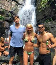 Holiday time! Tara Reid shared a snap of herself on holiday in Puerto Rico with pals on We...