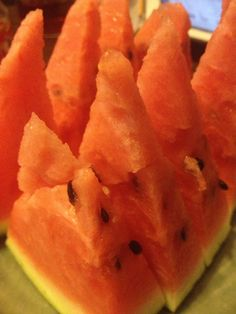 尾花沢の西瓜。今年はこれが最後かな?
