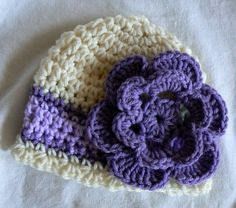 Easter baby girl hat  Sized in newborn to 2 by EveningAsters, $23.75