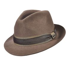 7a5325f5298 Scala DF151 Wool Felt Fedora Hat Fedora Hats