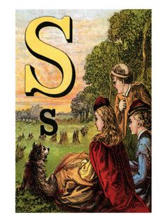 S is for The Sun That Sets In The West
