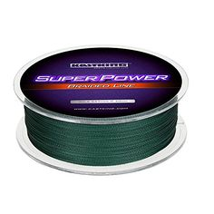 Fishing UK - KastKing SuperPower Braided Fishing Line - Abrasion Resistant Braided Lines – Incredible Superline – Zero Stretch – Smaller Diameter – A Must-Have!