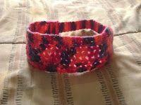 Patrón cintillo matizado rosa - diadema - headband