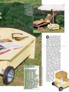 DIY Patio Umbrella Stand - Outdoor Furniture Plans Outdoor Plans
