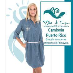 La Camisola Puerto Rico Búscala en nuestra colección de Primavera http://www.mardeformas.com/es/33-camisola-tejana-puerto-rico.html