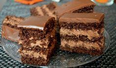 Nemrég lett kész, imádom :) Csak hagyni kéne a családnak is… :D Hungarian Desserts, Hungarian Recipes, Torte Cake, Cake Bars, Sweet Cookies, Cake Cookies, Cake Recipes, Dessert Recipes, Romanian Food