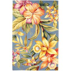 Pretty flowers, can you believe it's a rug?!