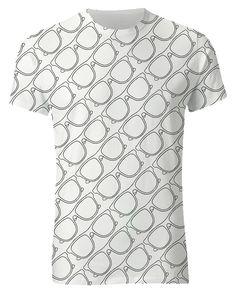 Glasses print tshirt