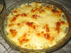Receita de Batata Gratinada com Bacon Light Recipes, My Recipes, Cooking Recipes, Favorite Recipes, Healthy Eating Guidelines, Potato Dishes, Four, Soul Food, Macaroni And Cheese