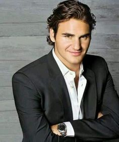 ROGER FEDERER, not sure there's a cooler man in sports