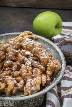 Bring on fall, bring on the fair, bring on caramel apples and funnel cakes! I am soooo ready. So, of course I had to make this insanely yummy concoction for you! I know I have said this many many times before, but one of Jeremy's favorite desserts are funnel cakes! He goes nuts for them. …