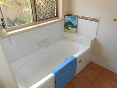 Old bath tub removed to make way for new stylish bath Make Way, Bath Tub, Bathroom Renovations, Corner Bathtub, How To Remove, Shower, Stylish, Rain Shower Heads, Bathtub