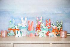 DIY Fabric Easter Bunnies