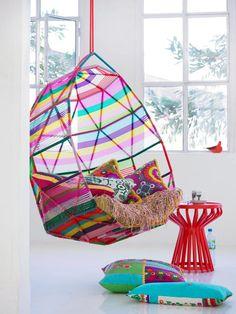 top ten chairs at dizzy heights   Tropicalia armchair, Patricia Urquiola, Moroso, 2008   #designbest #topten  
