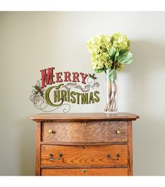 DCWV Home Christmas Wall Decal: Have a Very Merry ...