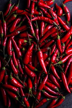 African bird's eye chillies for home-made peri-peri sauce