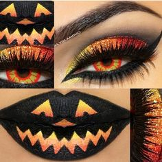 No How To But Great Inspiration For Halloween Flutter Lashes