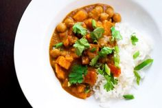 Different textures and flavors make this hearty dish truly unique. A bit sweet with a hint of spice it's perfect served over rice. Made in the slow cooker it's ideal for a busy day when you don't have time to cook.