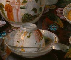 Gods and Foolish Grandeur: (Detail) Still-life, tea service, by Jean-Étienne Liotard, circa 1781-83