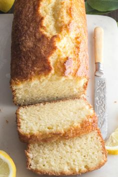 May 2020 - Best Homemade Lemon Bread, a delicious moist, Lemon Loaf Recipe. Made with fresh lemons and a simple lemon glaze. The perfect snack, dessert or even Breakfast Bread. Lemon Desserts, Lemon Recipes, Fruit Recipes, Baking Recipes, Cake Recipes, Dessert Recipes, Fruit Bread, Dessert Bread, Lemon Bread