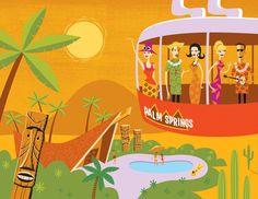 El sabor de Palm Springs lo ilustra Shag