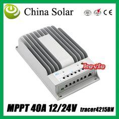 40A 12V/24V Auto MPPT Solar Charge Controller,40Amps solar panel charge Regulator #Affiliate