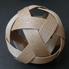 PPバンドのセパタクローボールの作り方…『三すくみ』で説明 と PPバンドのセパ...
