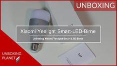 Video mit Unboxing der Xiaomi Yeelight Smart-LED-Birne für Amazon Alexa #unboxing #xiaomiyeelight #smartledbirne #amazonalexa