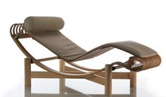 design lounge chair by Charlotte Perriand
